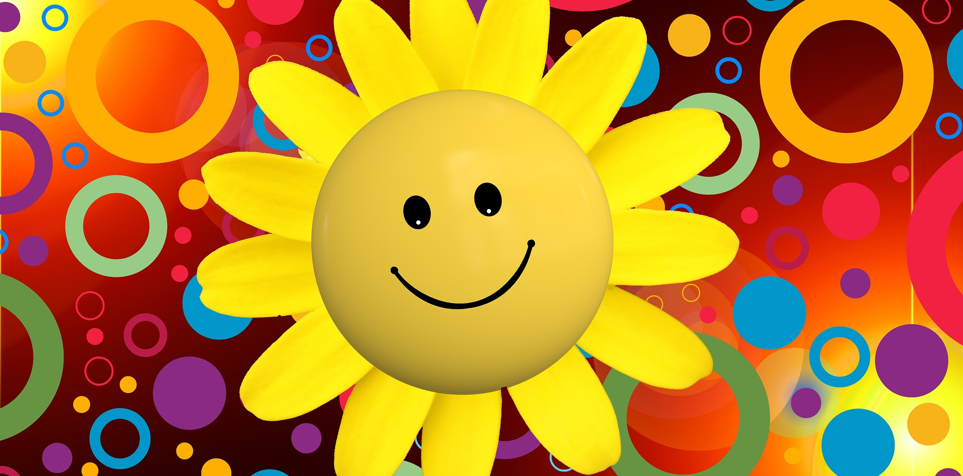 Be positive - The sun!
